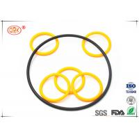 Cheap Buna O Rings Yellow Fuel And Oil Resistant  Abrasion Resistance For Automotive for sale