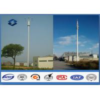 Microwave Mobile Cell Phone Tower Telecommunication pole HDG