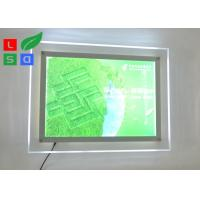 Cheap Environmental Protection LED Light Box Sign , Single Side 2835 SMD Ultra Thin Light Box for sale