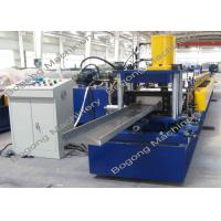 Cheap C200 PLC Control Purlin Roll Forming Machine Customized 10 - 20m / Min Speed for sale