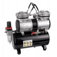 Cheap Two cylinder portable airbrush mini compressor AS-196 for sale