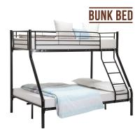 Cheap Black Heavy Duty Strong Military Bunk Bed , Steel Bunk Beds For Adults for sale
