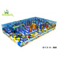 Cheap Customized Indoor Soft Playground Anti - Static 2CM Thickness With Protective Web for sale
