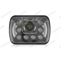 Cheap 7 Inch High Low Beam LED Headlights , Easy Install HID Headlight Replacement for sale