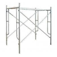 Cheap 5 'X5 ' Ladder Door Type Mason Frame Scaffolding For Building Construction for sale