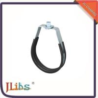 China Steel Springier Hanging Pipe Clamps Stand Off Pipe Clips Swivel Loop Shape on sale