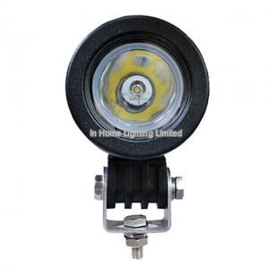 Cheap 10W LED Truck Work Lights , White 10-30V LED Trolling Motor Headlight for Boat Lighting for sale