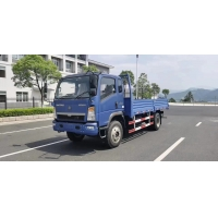 Cheap 2019 Year 10 Ton 4x2 160HP RHD Used Cargo Truck 75km/H for sale