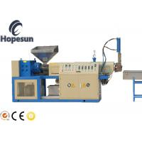 China ABS PP PS Plastic Granule Making Machine / Single Screw Extruder Machine on sale