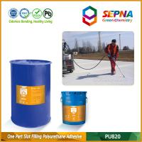 Cheap Single Component Self-leveling Polyurethane Slot Filling Adhesive for Airport Runway PU820 for sale