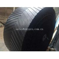 Cheap Heat Resistant Rubber Conveyor Belt With 10-24Mpa Tensile Strength , 5-30mm Thickness for sale