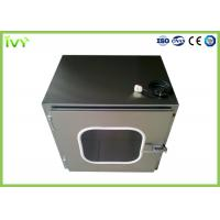 Cheap High Safety SS Pass Box Made From Corrosion Resistant Cold Rolled Steel Material for sale