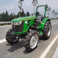 Cheap Spiral Bevel Gear 21L Oil 90HP 4WD Used Farm Tractors for sale