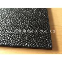 China Orange peel leather pattern rubber mats flooring for horse stable or runner on sale