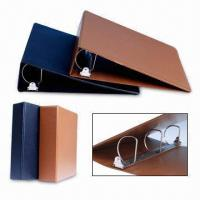 Buy cheap PVC 3-D Ring Binders with Inner Pockets for Cards Storage from wholesalers