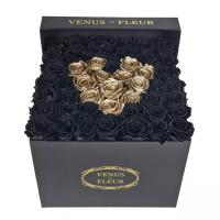 Buy cheap Luxury design cardboard round box preserved flower boxes with logo printing from wholesalers