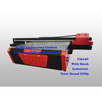 Cheap Industrial Flatbed UV Printer With Ricoh GEN5 High Speed Print Head for sale