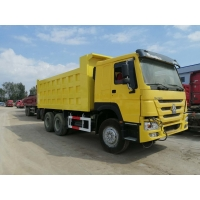 Cheap Front Lifting 6*4 Tipper 380HP RHD Second Hand Dump Truck for sale