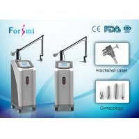 Cheap Good effects facial skin tightening 10600 nm wavelength 360 degree scanning ability co2 laser price for sale