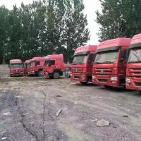 Cheap Diesel Power Used Tractor Truck 375hp Tractor Head Truck For Transport for sale