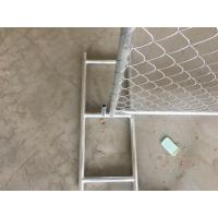 Buy cheap USA Standard construction temporary chain link fence(direct factory) from wholesalers