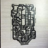 Quality carbon traces double side contact Flexible Printed Circuit wholesale