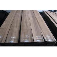 Cheap Natural Sliced Cut Burma Teak Veneer Quarter Cut With Grade A / B For Plywood for sale