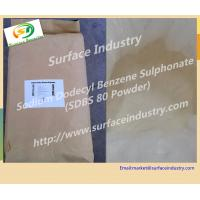 Cheap Surfactant Sodium Dodecyl Benzene Sulphonate,SDBS 80% Powder for Washing Powder for sale