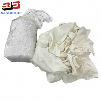 Cheap No Sequin Lint Free White 100 Cotton Cleaning Rags for sale