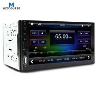 Cheap Wholesale Capacitive Screen 7 Inch 2 Din Car Audio  Radio Stereo with New c200s chip /BT /USB /SD/ Mirror link /Fast cha for sale