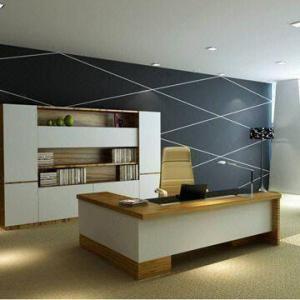 Cheap Office Desk, Modern Design, Made of MDF for sale