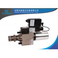 Cheap ISO9001 Hydraulic Pressure Control Valve Catbon Steel / Alloy Steel Body Material for sale