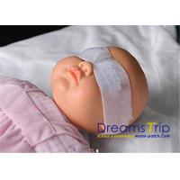 Buy cheap Sterilized White Neonatal Phototherapy Eye Mask For Baby Vision Protection from wholesalers