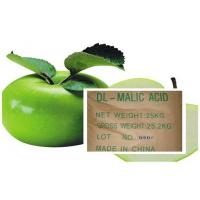 Cheap Acidity Regulators , Malic Acid CAS 6915-15-7 With DL & L For Cool Drinks for sale