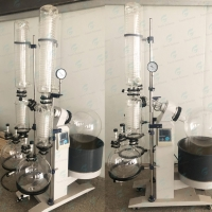 Cheap 20L Destilator Machine Rotavapor Vacuum Reactor Distiller Digital Rotary Evaporator Price with Vacuum Pump and Chiller for sale
