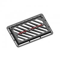 Cheap Ductile Cast Iron Storm Drain Grate Ductile Iron Gully Grating And Frame for sale