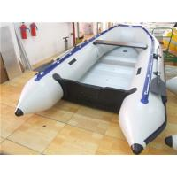 Cheap Pvc Tarpaulin 12 Foot Inflatable Boat , Rigid Inflatable Dinghy For Adult for sale