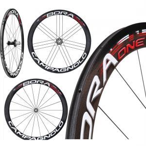 Compagnolo Carbon Fiber Bike Wheels 50mm 25mm Wide 3k Matte Finish