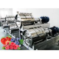 Cheap Hygiene SUS 304 1500T/Day Berry Processing Equipment for sale