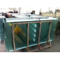 Tempered Safety Glass Street Furniture with White Ceramic Printing safety glass panels