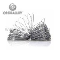 China Magnetic FeCrAl Alloy Aluchrom W Round Wire For Formed Tubular Heaters on sale