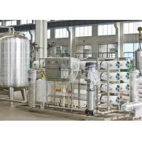 Cheap CE / SGS RO Water Treatment Equipments Reverse Osmosis Ozone Generator for sale