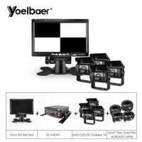 Cheap 4CH HDD MDVR Mobile DVR System With 4G GPS AHD Backup Bus Trucks Camera for sale