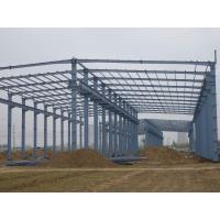 Cheap modular warehouse building prefabricated light steel structure shed for sale