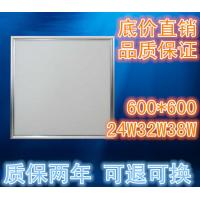 Cheap 24W 32W 38W 600x600  slim square led panel light  100-130lm/w  recessed ceiling lamp Good price for recessed led ceiling for sale