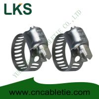Cheap Small American Type Hose Clamps for sale