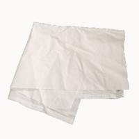 Cheap No Stain Recycled White Bed Sheet Industrial Cotton Rags for sale