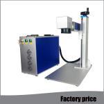Cheap Metal Fiber Mini Laser Marking Machine EZCAD Software Low Power Consumption for sale