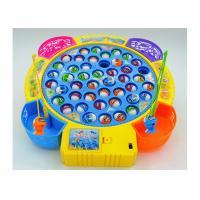Cheap Funny Plastic Children's Play Toys Fishing Game Battery Operated With Music for sale