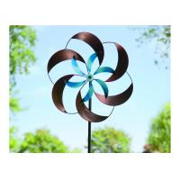 Cheap Decorative Wind Outdoor Metal Sculpture Stainless Steel Kinetic Sculpture Custom Size for sale